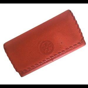 Tory Burch Orange Wallet